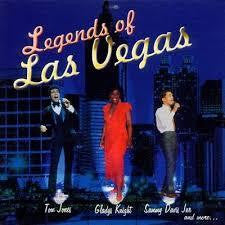 LEGENDS OF LAS VEGAS-VARIOUS ARTISTS CD VG