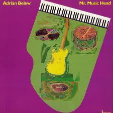 BELEW ADRIAN-MR MUSIC HEAD LP VG COVER G