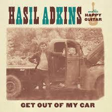 ADKINS HASIL-GET OUT OF MY CAR 7 INCH *NEW*