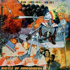 PERRY LEE SCRATCH-BATTLE OF ARMAGIDEON LP NM COVER VG+