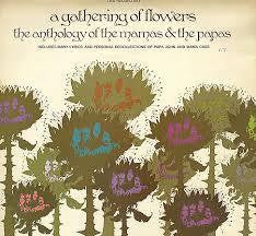 MAMAS AND THE PAPAS-A GATHERING OF FLOWERS LP VG COVER G