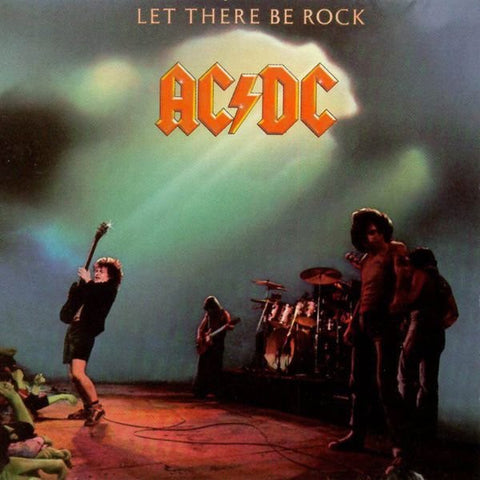 AC/DC-LET THERE BE ROCK CD VG