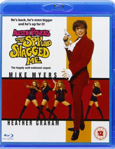 AUSTIN POWERS THE SPY WHO SHAGGED ME BLURAY VG