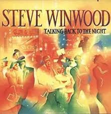 WINWOOD STEVE-TALKING BACK TO THE NIGHT LP VG+ COVER VG