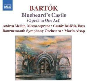 BARTOK - BLUEBEARD'S CASTLE CD VG+