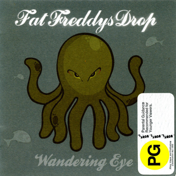 FAT FREDDY'S DROP-WANDERING EYE CD VG