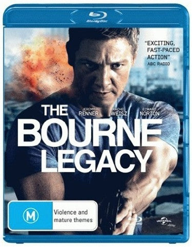 BOURNE LEGACY THE BLURAY VG