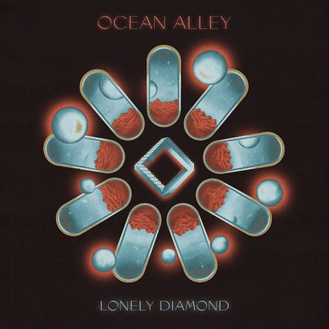 OCEAN ALLEY-LONELY DIAMOND BLUE VINYL CD PRE-ORDER *NEW*""