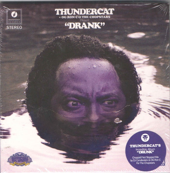 THUNDERCAT + OG RON C & THE CHOPSTARS-DRUNK CD *NEW*
