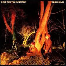 ECHO AND THE BUNNYMEN-CROCODILES LP VG COVER VG