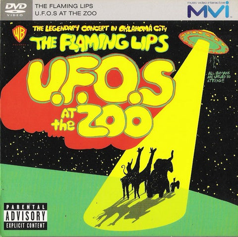 FLAMING LIPS THE-UFO'S AT THE ZOO DVD VG+