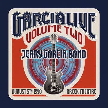 GARCIA JERRY BAND-GARCIALIVE VOLUME TWO: AUGUST 5TH 1990 GREEK THEATRE 4LP BOX SET *NEW*