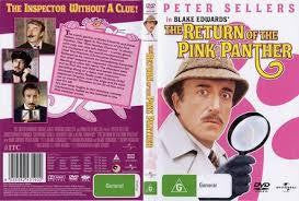 THE RETURN OF THE PINK PANTHER REGION 2 4 5 DVD M