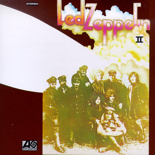 LED ZEPPELIN-II LP VG+ COVER VG+