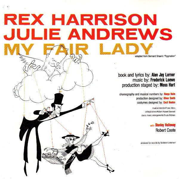 HARRISON REX & JULIE ANDREWS-MY FAIR LADY CD VG