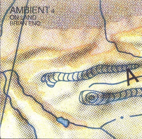 ENO BRIAN-AMBIENT 4 ON LAND CD VG+