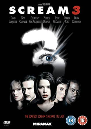 SCREAM THREE DVD