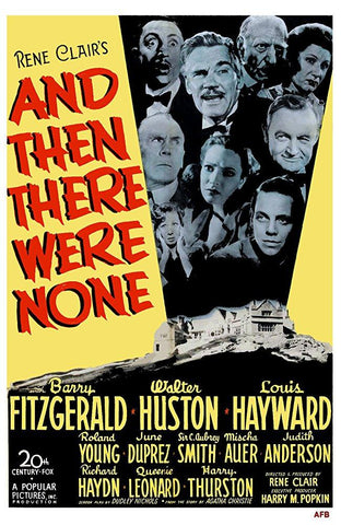 AND THEN THERE WERE NONE DVD VG