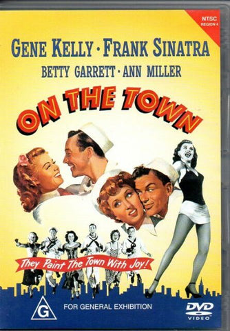 ON THE TOWN DVD VG