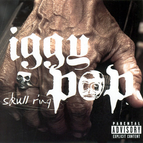 POP IGGY-SKULL RING CD VG