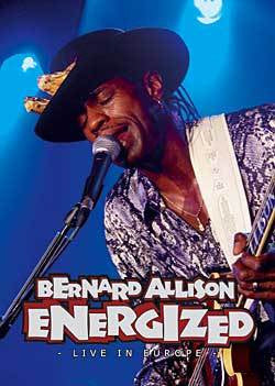 ALLISON BERNARD-ENERGIZED LIVE IN EUROPE DVD *NEW*