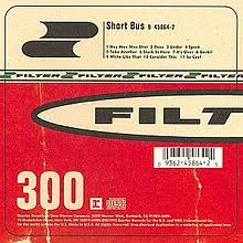 FILTER-SHORT BUS LP *NEW*