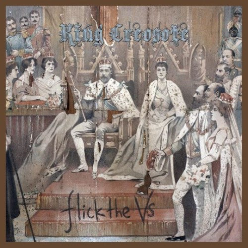 KING CREOSOTE-FLICK THE VS 2CD VG