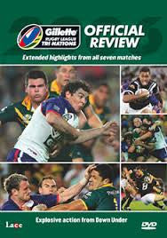 GILETTE RUGBY LEAGUE TRINATIONS REVIEW 2006 DVD VG