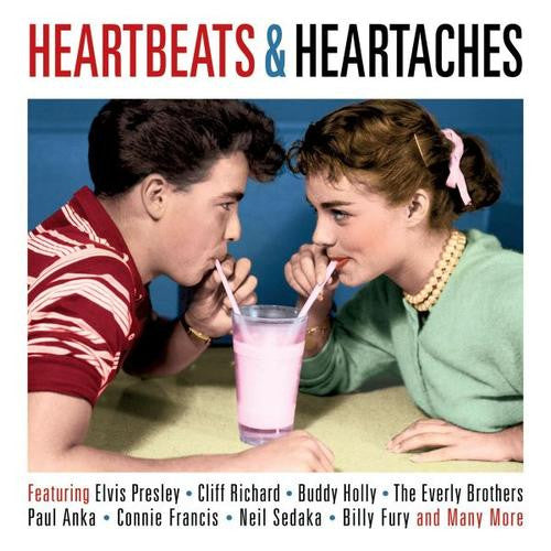HEARTBEATS AND HEARTACHES-VARIOUS ARTISTS 2CDS *NEW*