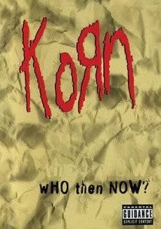 KORN-WHO THEN NOW DVD *NEW*