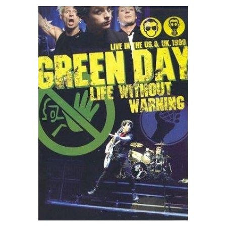 GREEN DAY-LIFE WITHOUT WARNING DVD *NEW*