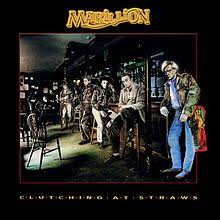 MARILLION-CLUTCHING AT STRAWS LP VG+ COVER VG+