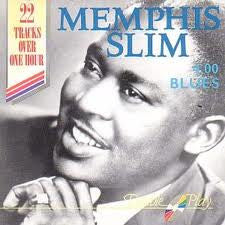 MEMPHIS SLIM-4 00 BLUES CD VG