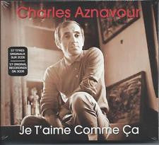AZNAVOUR CHARLES-JE T'AIME COMME CA 3CD *NEW*