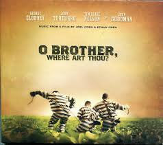 O BROTHER WHERE ART THOU SOUNDTRACK CD *NEW*