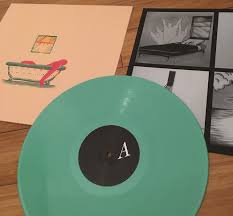 PILE-A HAIRSHIRT OF PURPOSE GREEN VINYL LP NM COVER EX