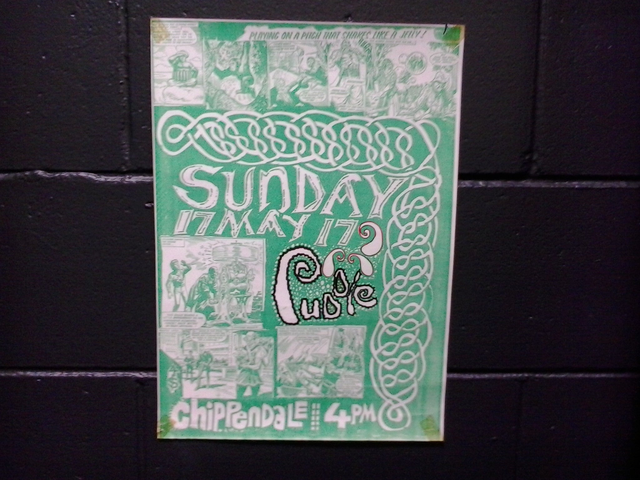 PUDDLE THE-ORIGINAL GIG POSTER