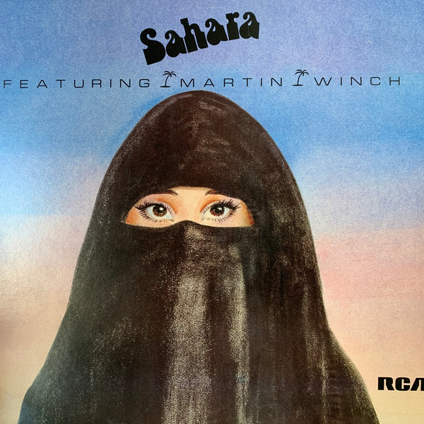 SAHARA-SAHARA FEATURING MARTIN WINCH LP NM COVER VG+