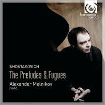 SHOSTAKOVICH-THE PRELUDES AND FUGUES MELNIKOV *NEW*
