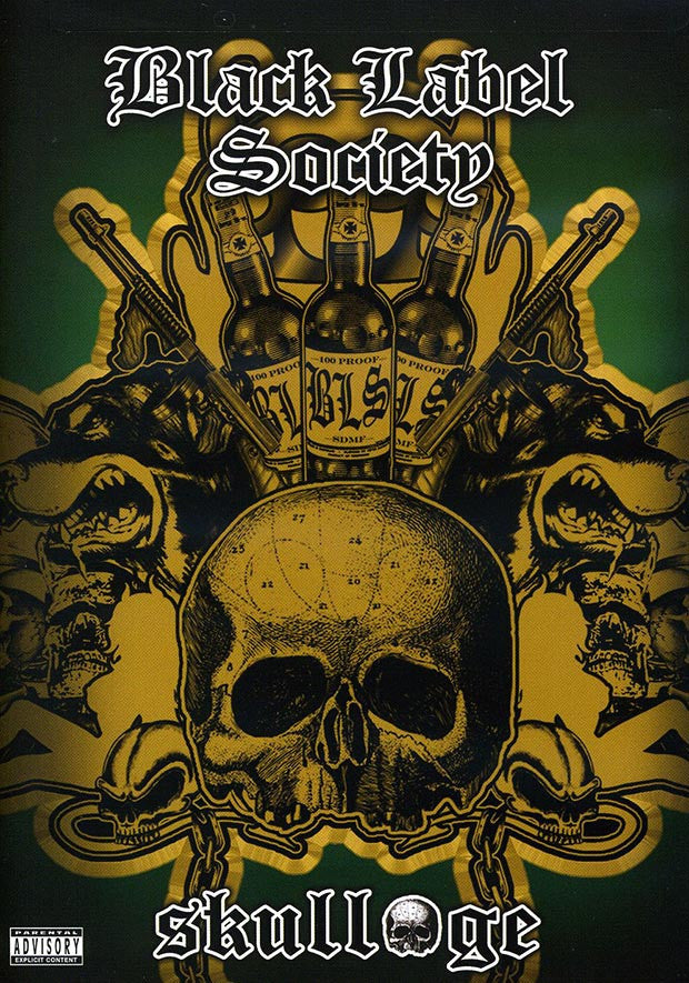 BLACK LABEL SOCIETY-SKULLAGE DVD *NEW*