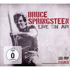 SPRINGSTEEN BRUCE-LIVE ON AIR CD DVD *NEW*