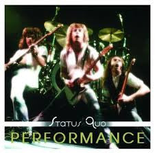 STATUS QUO-PERFORMANCE CD *NEW*