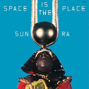 SUN RA-SPACE IS THE PLACE BLUE VINYL LP *NEW*