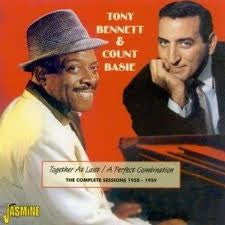 BENNETT TONY AND COUNT BASIE-TOGETHER CD *NEW*