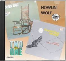 HOWLIN WOLF-2 FOR 1 HOWLIN WOLF MOANIN IN THE MOONLIGHT CD *NEW*