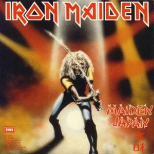 "IRON MAIDEN-MAIDEN JAPAN 12"" EP VG COVER VG+"