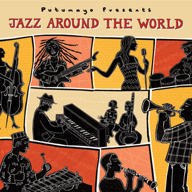 JAZZ AROUND THE WORLD *NEW*