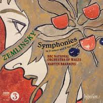 ZEMLINSKY SYMPHONIES IN D MINOR AND B FLAT MAJOR *NEW*