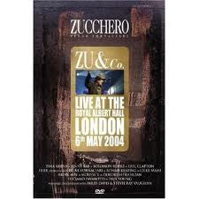 ZUCCHERO-ZU AND CO LIVE AT THE ROYAL ALBERT HALL DVD *NEW*