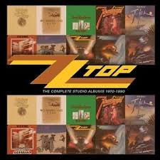ZZ TOP-COMPLETE STUDIO ALBUMS 1970-1990 10CD BOXSET *NEW*